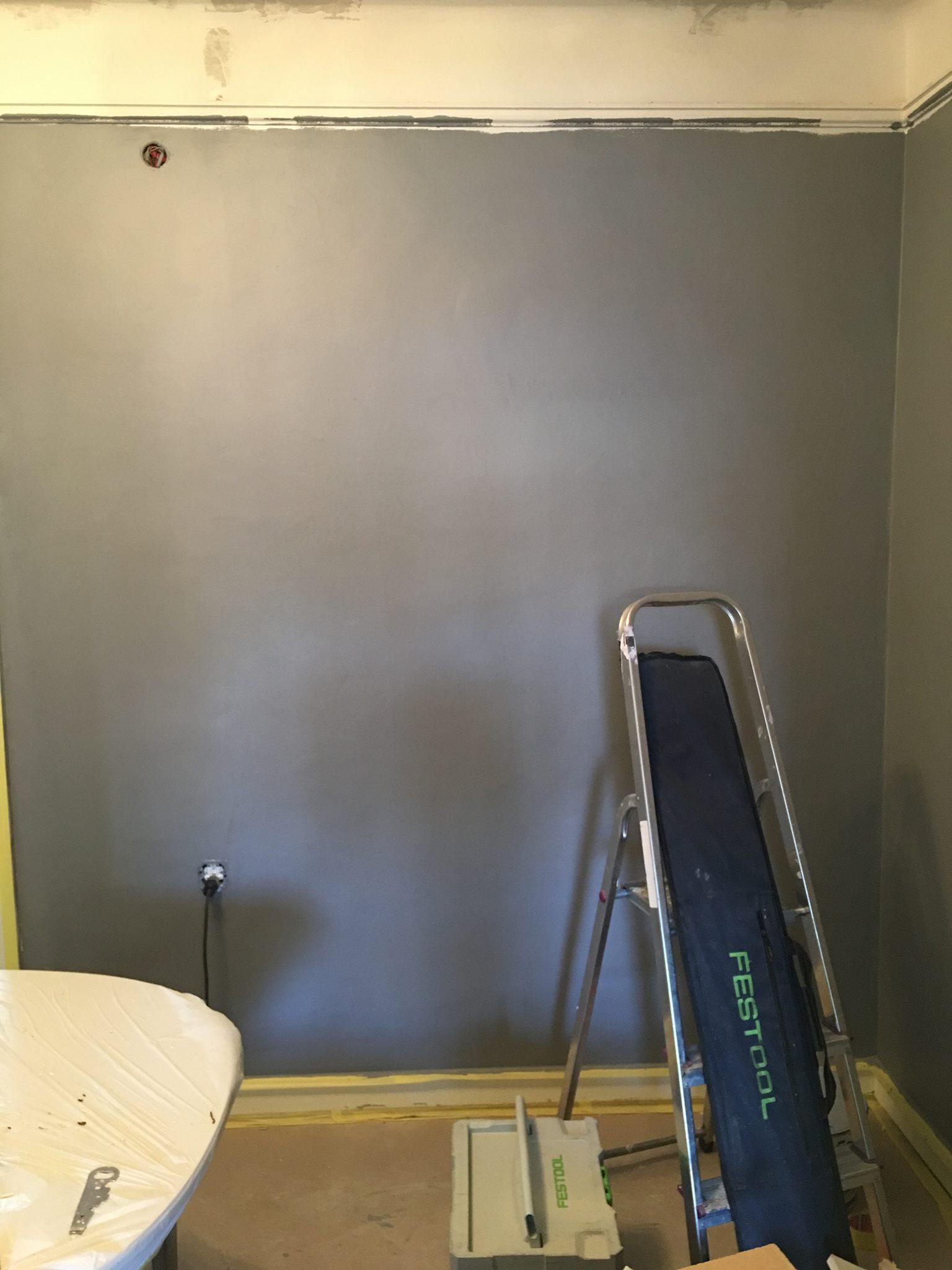 …tror att vi kan döpa om lägenheten till 50 shades of grey nu :D