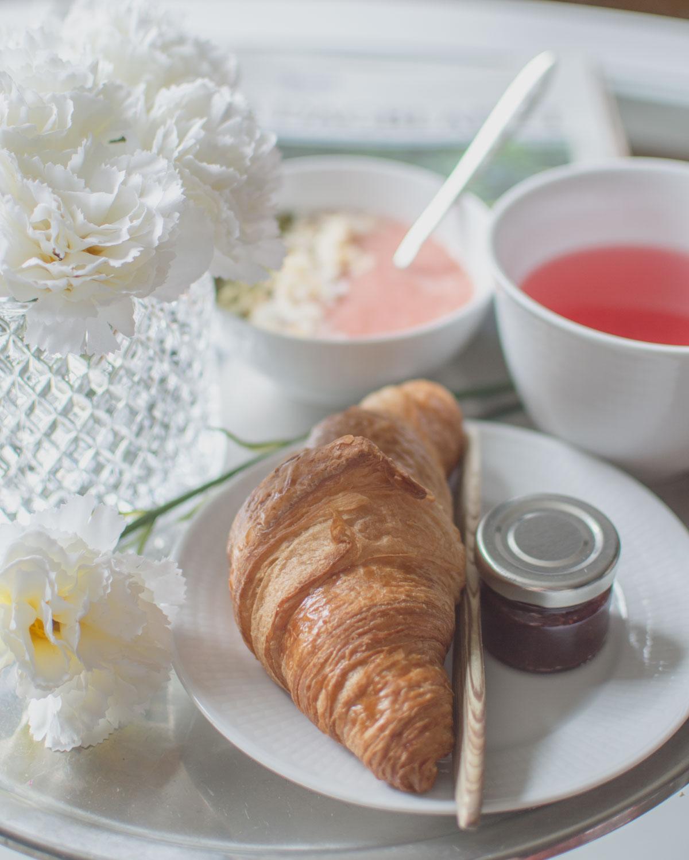 Semesterfrukost och semesterplaner