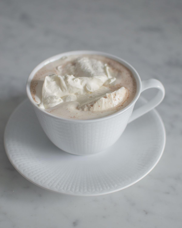 hemmagjord varm choklad