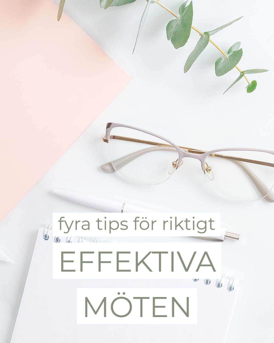 Fyra tips för effektiva möten