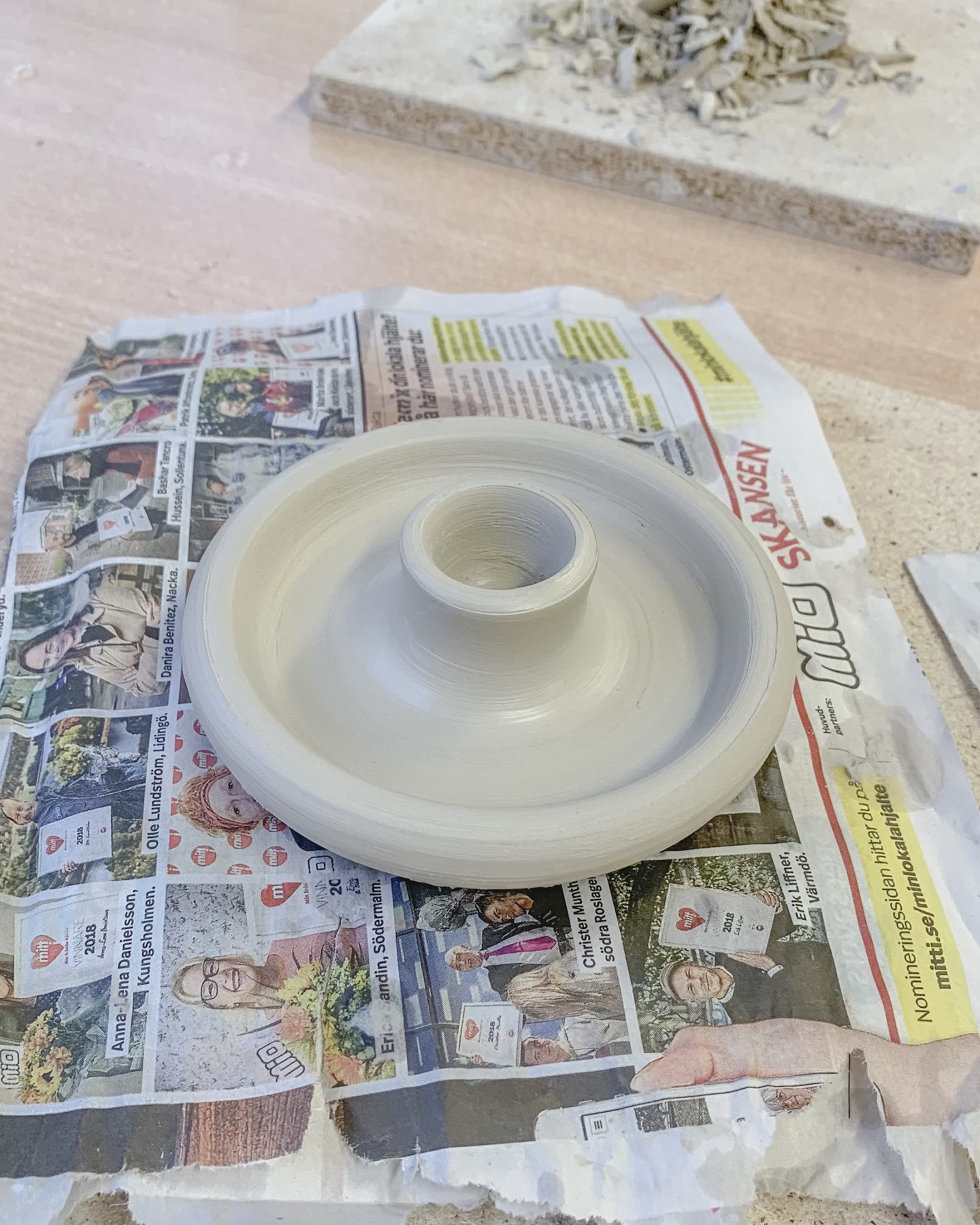 Det kliar i mina keramikfingrar
