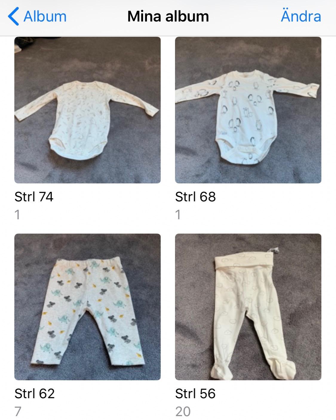 Ett tips för att organisera bebisens garderob